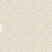 Lewis & Irene To Catch a Dream - 5021 - Metallic Gold Dream Swirls on Cream - A171.1 - Cotton Fabric